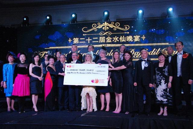 金水仙晚宴于4月13日在喜来登圆满落幕 金水仙基金会捐赠125万加元善款