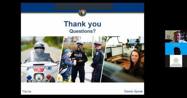 加拿大辽宁总商会聘请警官 为社区老人举办 《预防诈骗知识》讲座